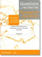 Questions de recherche, Sciences Po-CERI